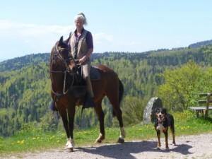 Tagesritt Glaserberg - Todtmoos - Wehrhalde