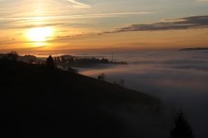 Sonnenuntergang Nähe Todtmoos